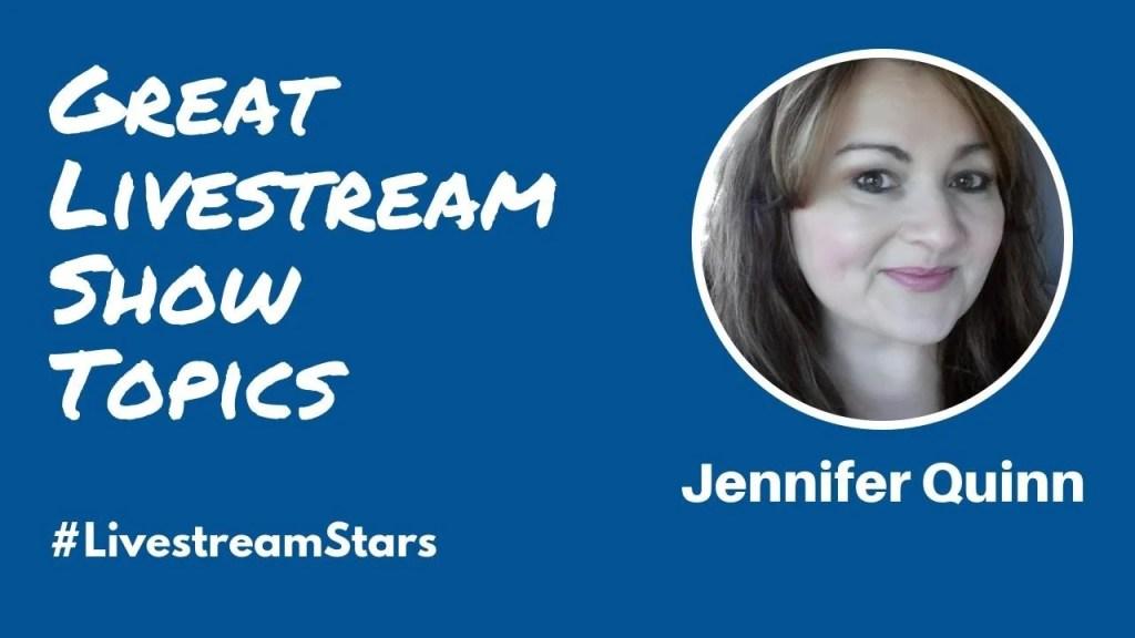 Jennifer Quinn Livestream Universe Stars