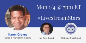 LivestreamStars Karen Graves Ross Brand