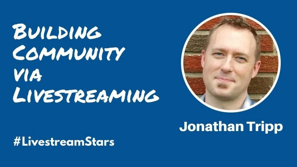 Jonathan Tripp Livestream Universe Stars