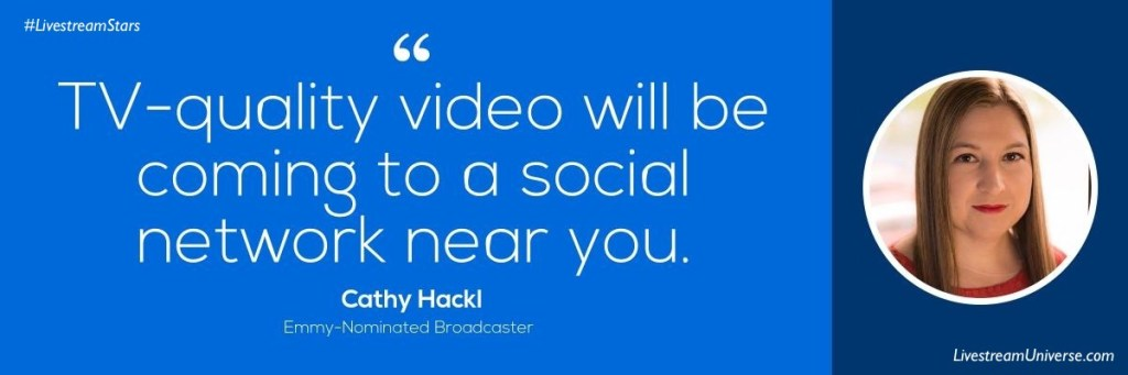 Cathy Hackl Livestream Universe Quote