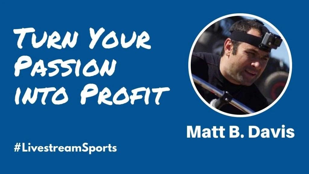 Matt B Davis Livestream Universe Sports