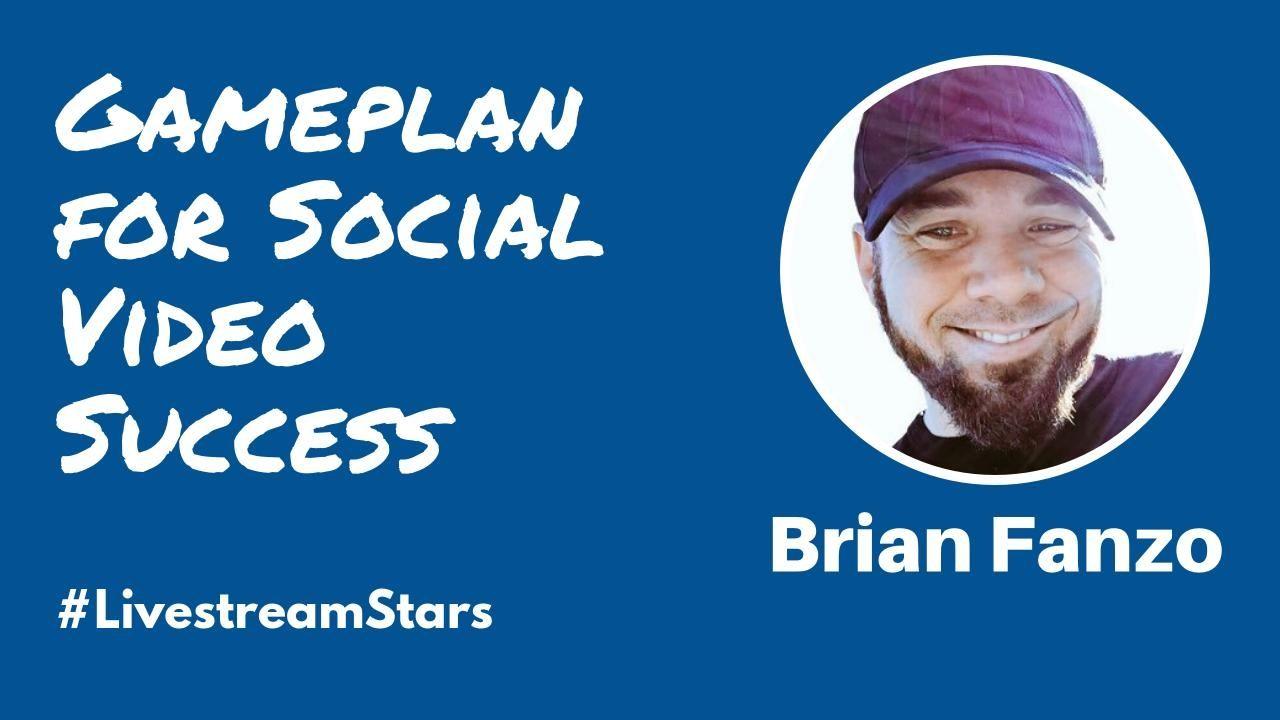 Brian isocialfanz Fanzo Livestream Stars Featured
