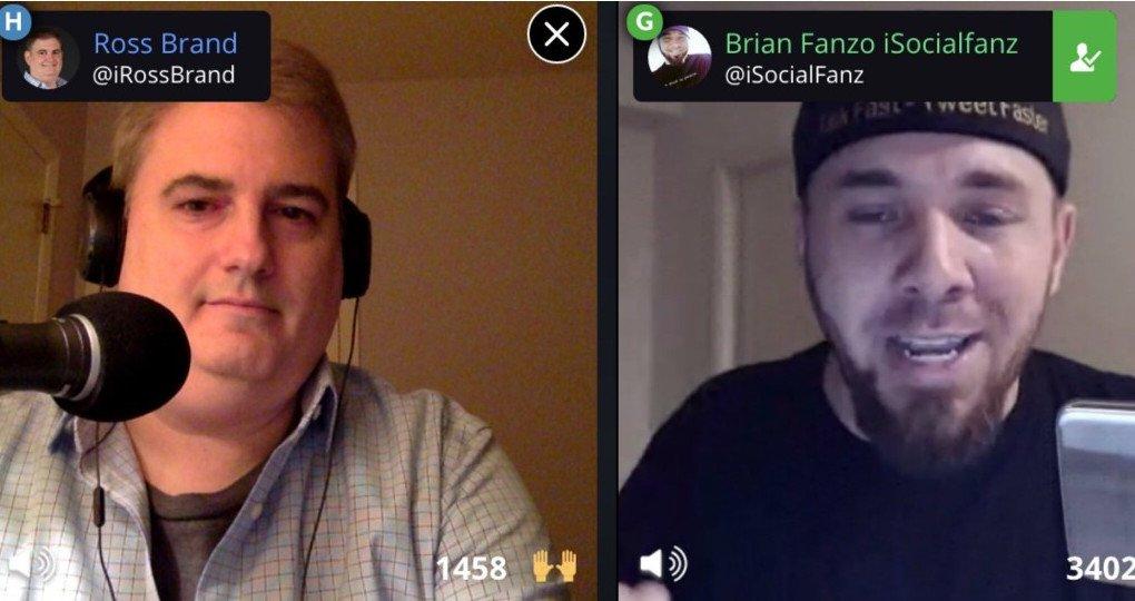 Livestream Universe Ross Brand Brian iSocialFanz Fanzo livestreaming