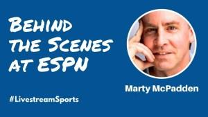 Marty McPadden ESPN YouTube Livestream Universe