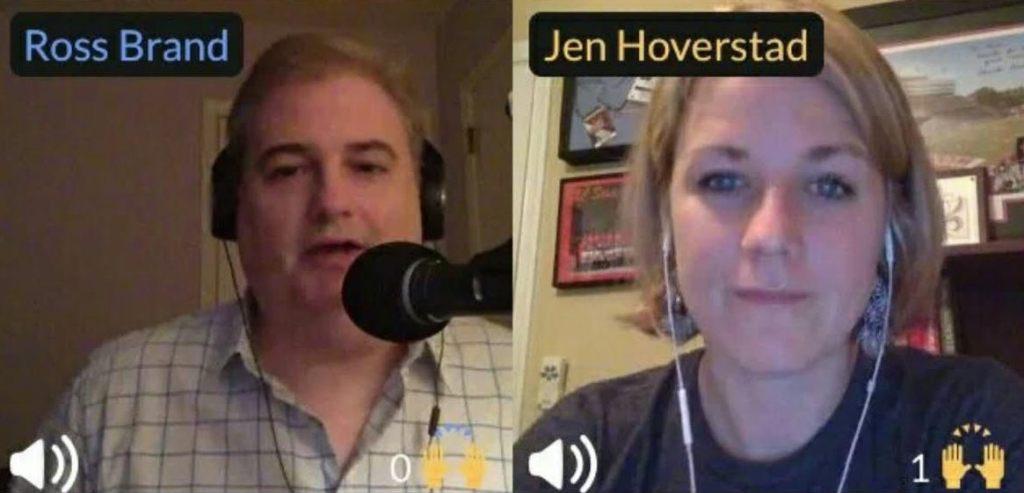 Ross Brand Jennifer Hoverstad Livestream Universe Stars