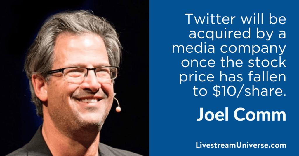Joel Comm 2017 Predictions Livestream Universe