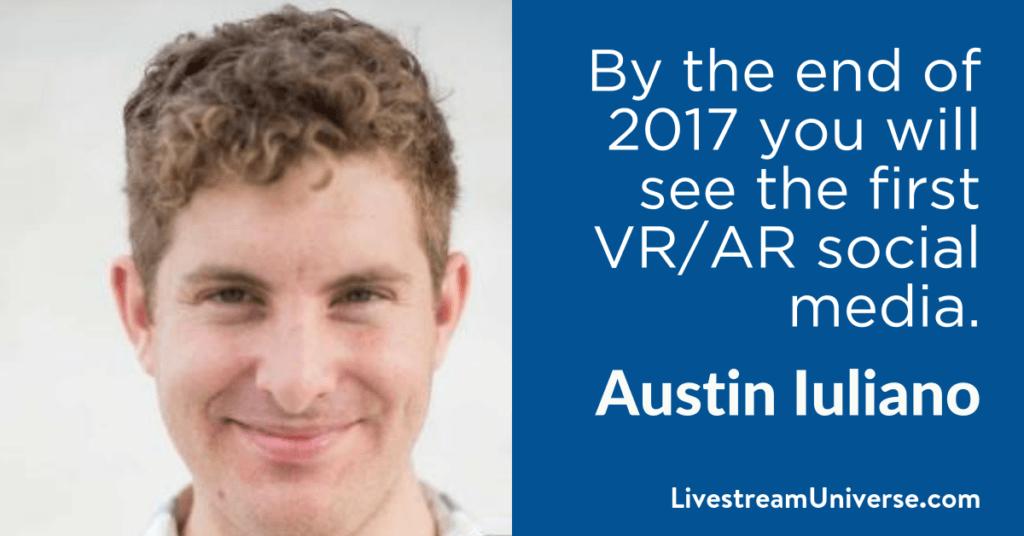 Austin Iuliano 2017 Prediction Livestream Universe