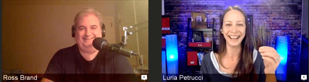 Luria Petrucci Ross Brand Livestream Universe Stars