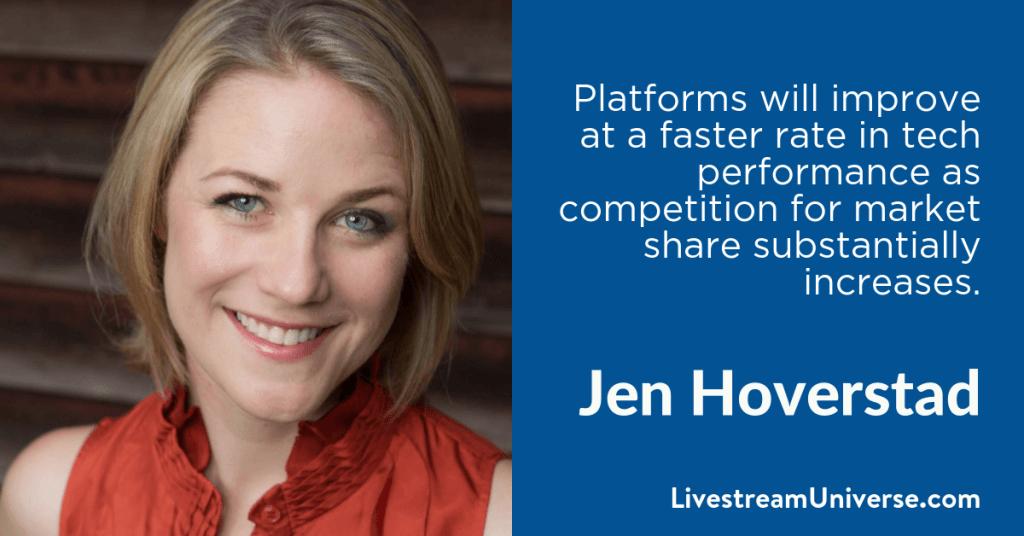 Jen Hoverstad 2017 Prediction Livestream Universe