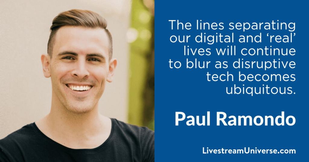 Paul Ramondo 2017 Prediction Livestream Universe
