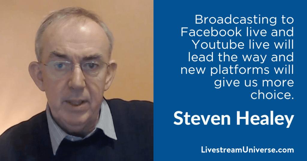 Steven Healey 2017 Prediction Livestream Universe