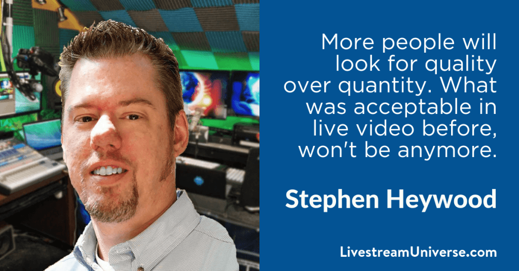 Stephen Heywood 2017 Prediction Livestream Universe