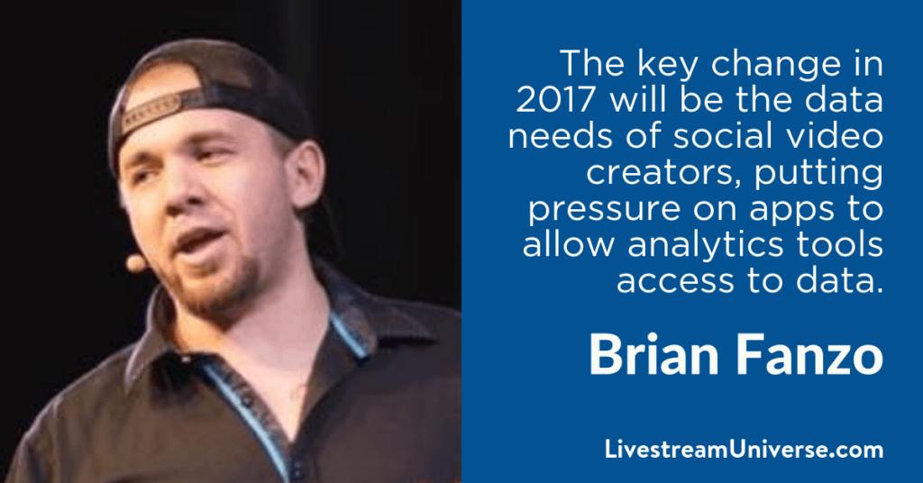 Brian Fanzo 2017 Predictions Livestream Universe