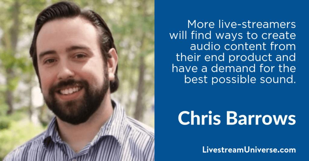 Chris Barrows 2017 Prediction Livestream Universe