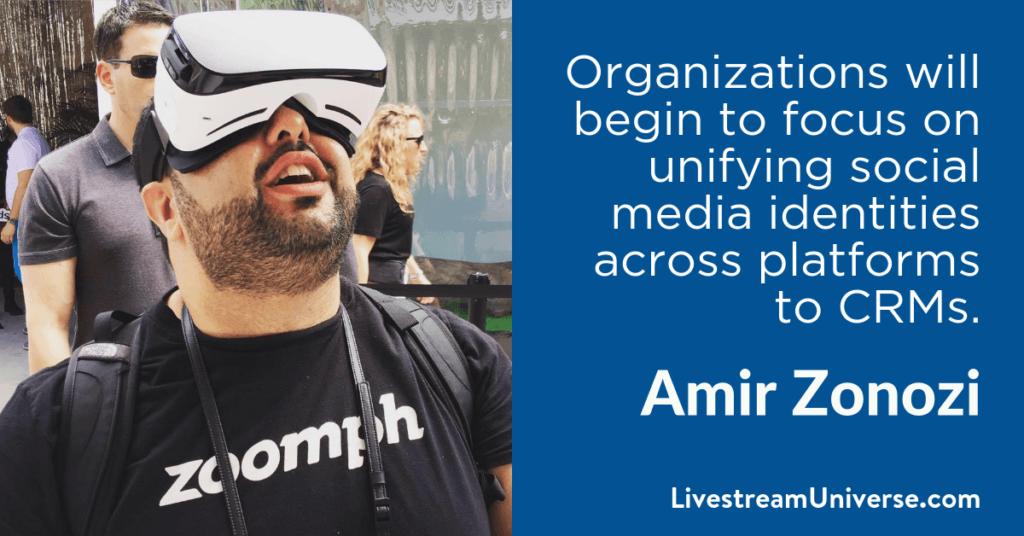 Amir Zonozi 2017 Prediction Livestream Universe