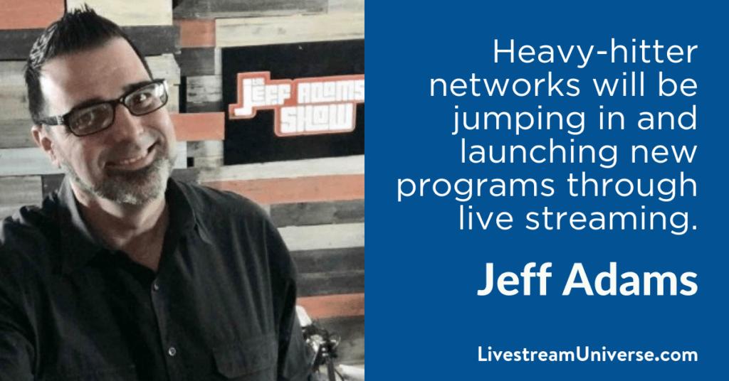 Jeff Adams 2017 Predictions Livestream Universe