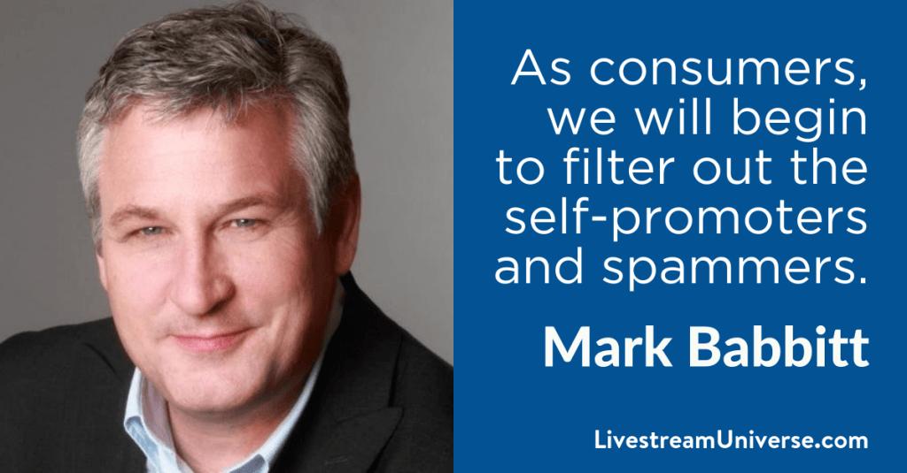 Mark Babbitt 2017 Prediction Livestream Universe