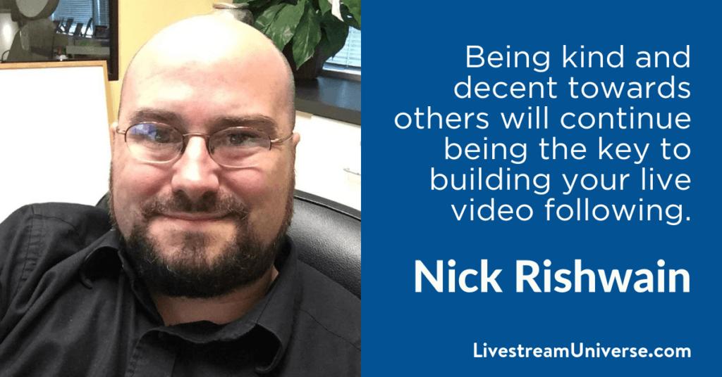 Nick Rishwain 2017 Prediction Livestream Universe