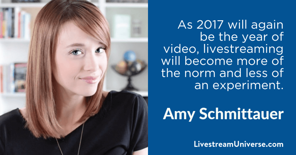 Amy Schmittauer 2017 Prediction Livestream Universe