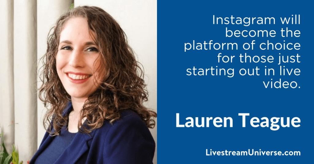 Lauren Teague 2017 Prediction Livestream Universe