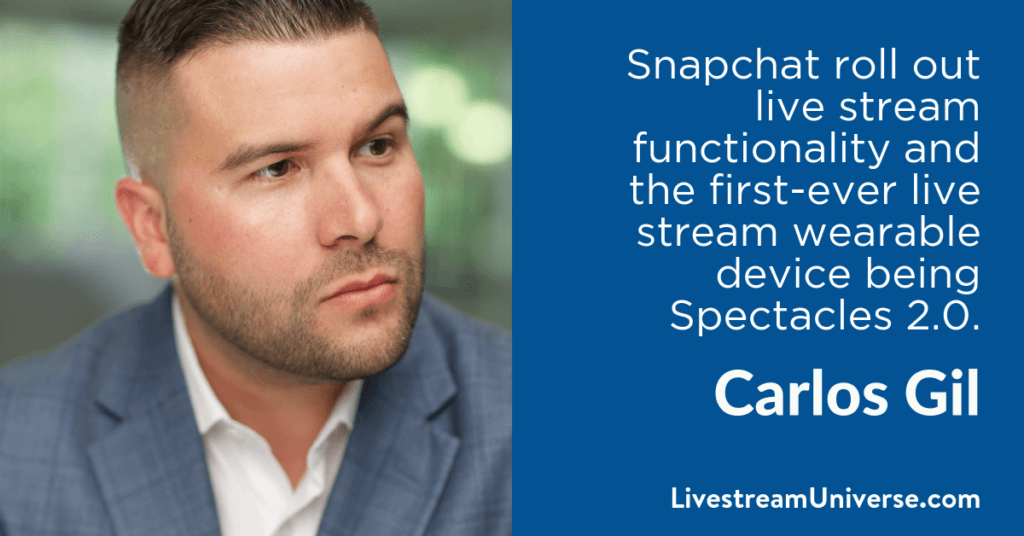 Carlos Gil 2017 Prediction Livestream Universe