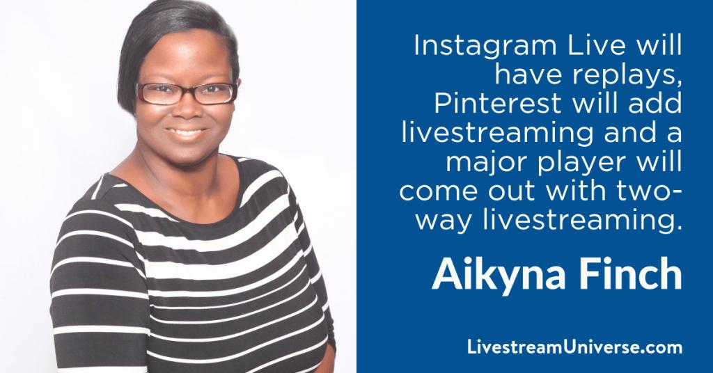 Aikyna Finch 2017 Prediction Livestream Universe