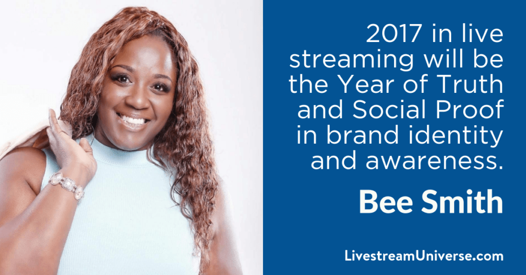 Bee Smith 2017 Prediction Livestream Universe