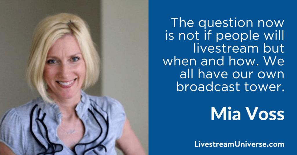 Mia Voss 2017 Prediction Livestream Universe