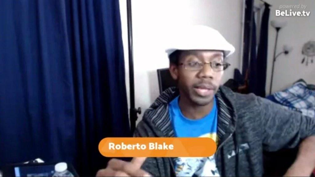 Roberto Blake Livestream Universe