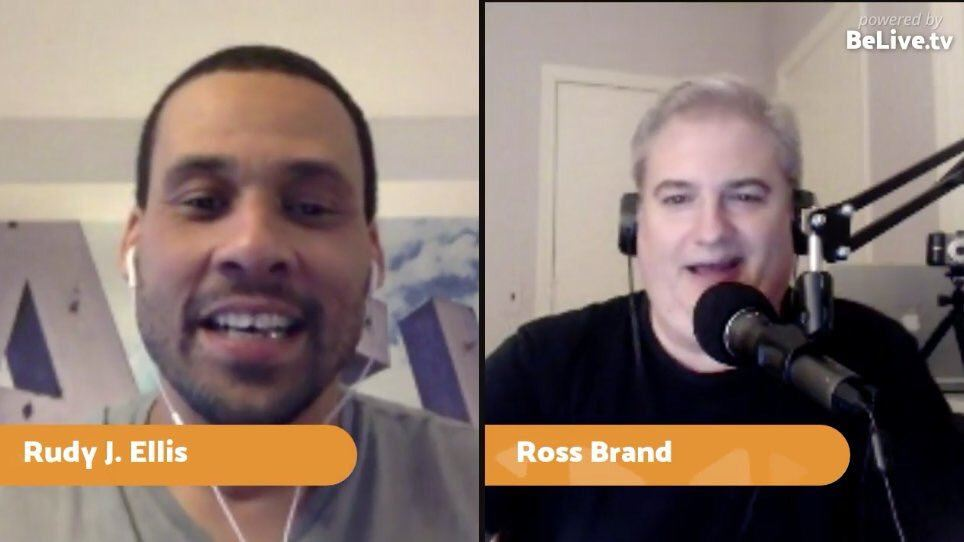 Rudy J Ellis Ross Brand Livestream Universe Stars