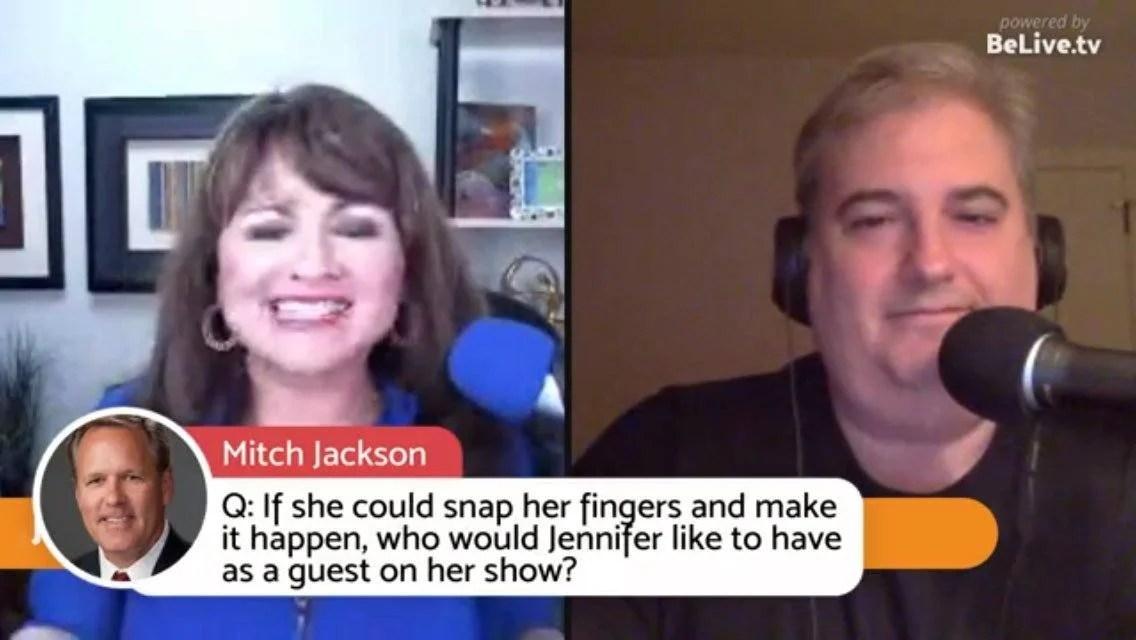 Jennifer Quinn Ross Brand Livestream Universe Stars Mitch Jackson