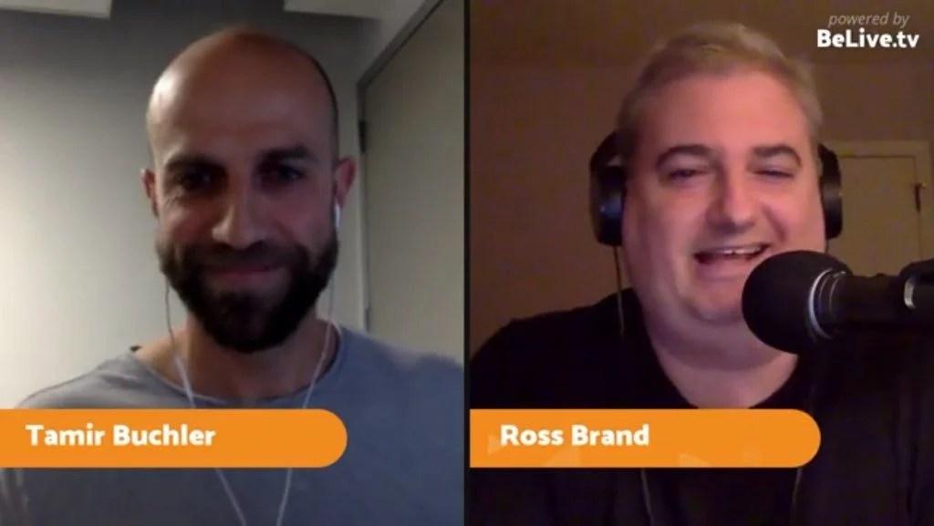 Tamir Buchler Ross Brand Livestream Universe