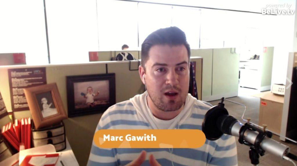 Marc Gawith Livestream Universe