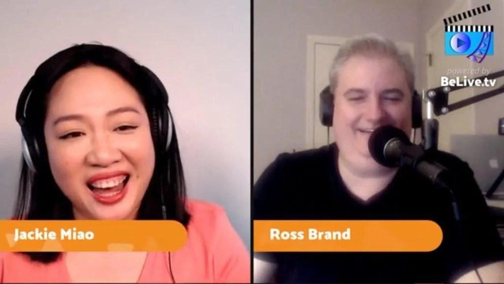 Jackie Miao Ross Brand Livestream Universe