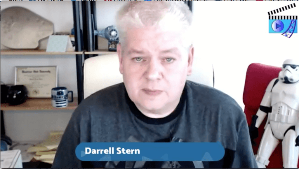 Darrell Stern Livestream Universe