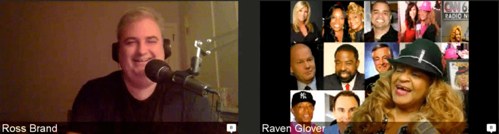 Ross Brand Raven the talk show maven