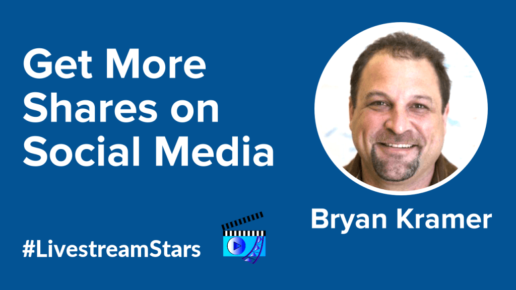 Bryan Kramer H2H Livestream Universe Stars