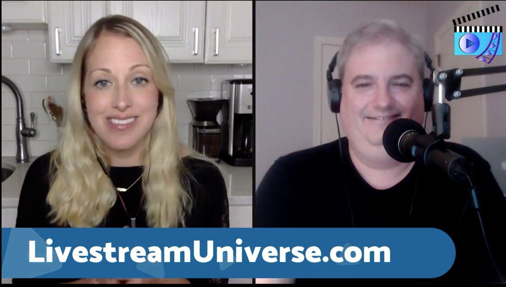 Andrea Branchini Ross Brand Livestream Universe