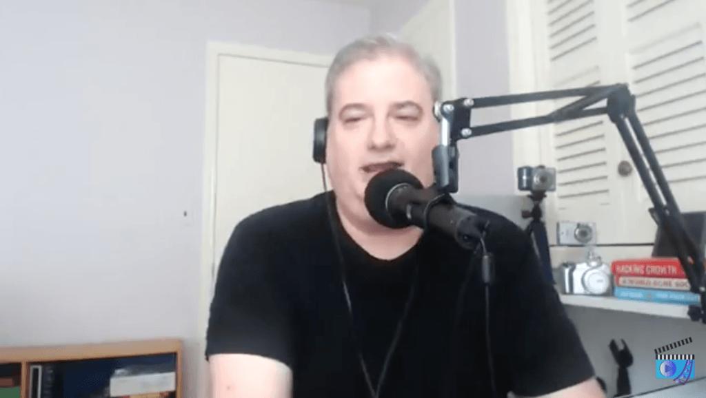 Ross Brand interviewing SXSW Livestream Universe