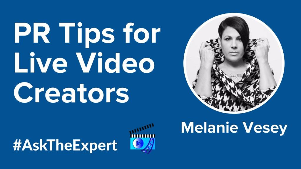 Melanie Vesey Livestream Universe Ask the Expert