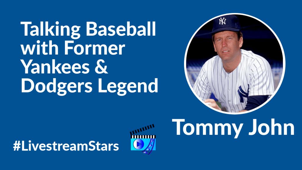 Tommy John Livestream Universe Stars