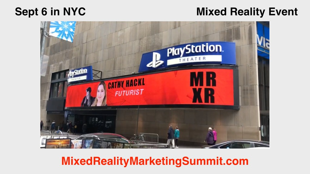 Cathy Hackl Mixed Reality Marketing Summit
