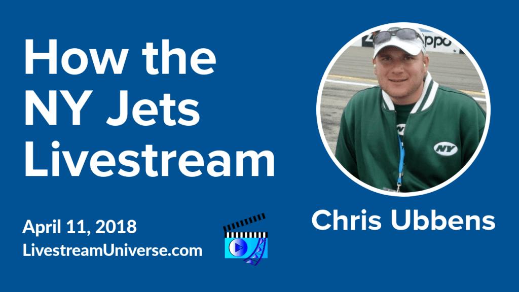 Chris Ubbens NY Jets Livestream Universe