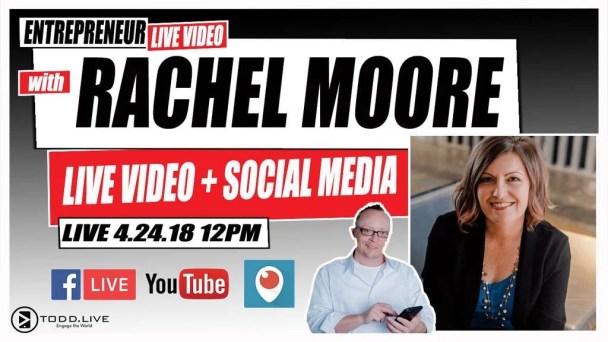 Todd Bergin Todd.Live Rachel Moore