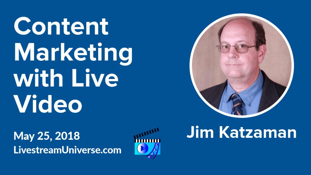 Jim Katzaman Ross Brand Livestreaming Social ROI