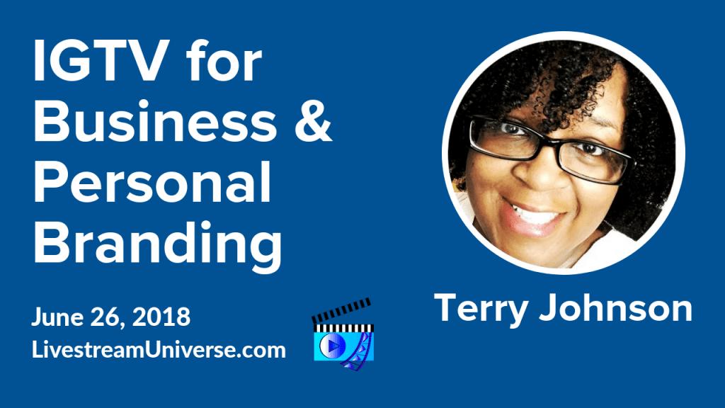 Terry Johnson IGTV