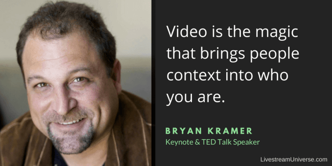 Bryan Kramer Quote Brand on Broadcasting