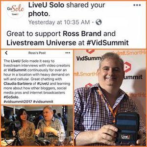 LiveU Solo VidSummit