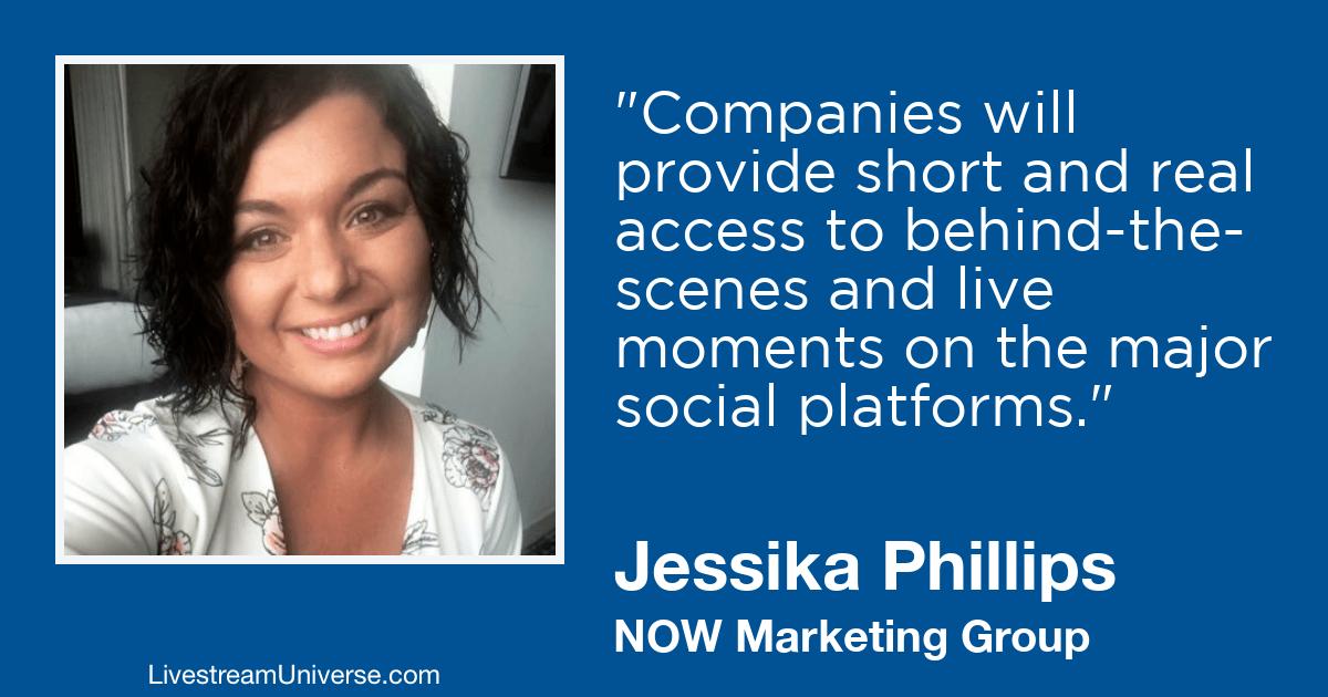 Jessika Phillips 2019 Prediction Livestream Universe