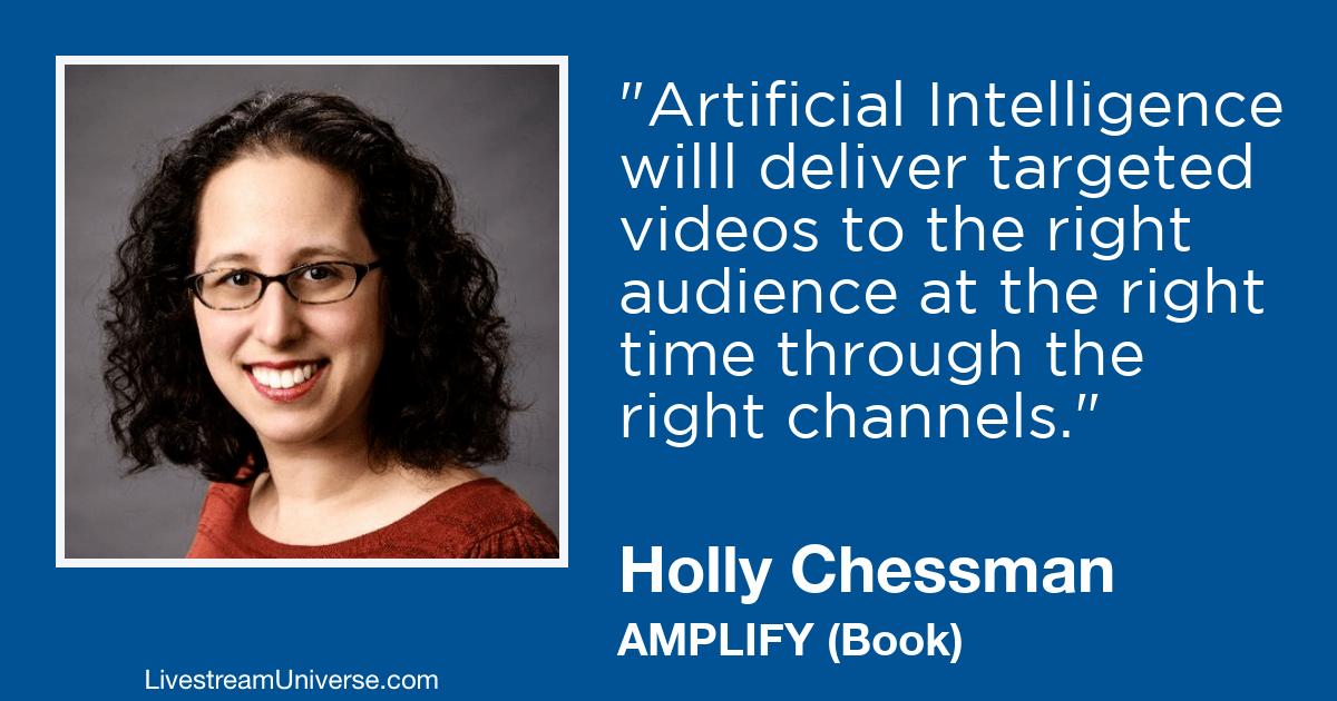 Holly Chessman 2019 prediction livestream universe